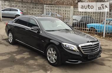 Mercedes-Benz S 600 GUARD VR9 2015