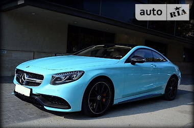 Mercedes-Benz S 63 AMG  4Matic Coupe  2015