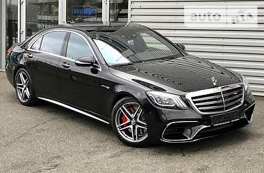 Mercedes-Benz S 63 AMG 4 MATIC LONG 2017
