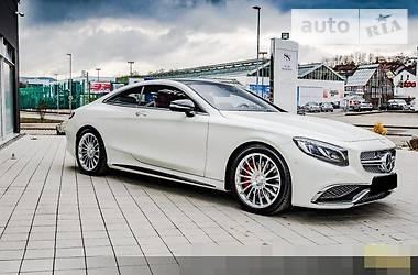Mercedes-Benz S 65 AMG Coupe 2015