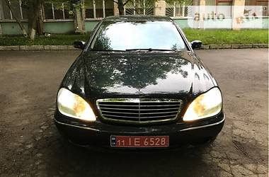 Mercedes-Benz S-Class Long 2002