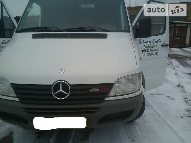 Mercedes-Benz Sprinter 416 пасс.
