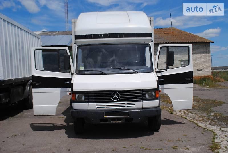 Mercedes-Benz T2 611 груз