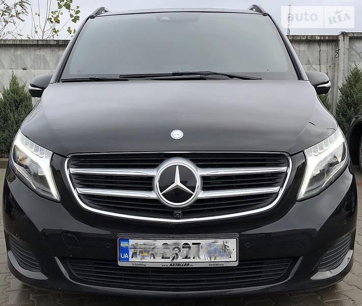 Mercedes-Benz V 2016 года