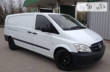 Mercedes-Benz Vito груз. Vito 113. XL Model. 2012
