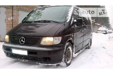 Mercedes-Benz Vito пасс. 114 2.3МТ газ 1998