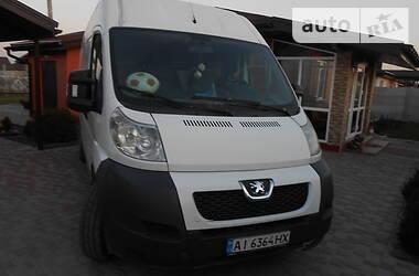 Характеристики Peugeot Boxer груз. Микроавтобус грузовой (до 3,5т)