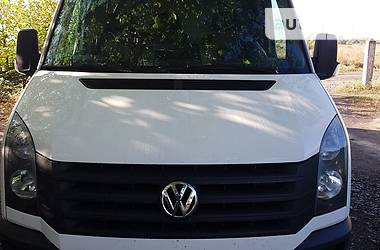 Характеристики Volkswagen Crafter груз. Микроавтобус грузовой (до 3,5т)