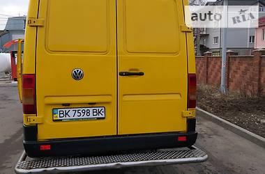 Характеристики Volkswagen LT груз. Мікроавтобус вантажний (до 3,5т)
