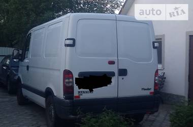 Характеристики Renault Master груз. Микроавтобус грузовой (до 3,5т)