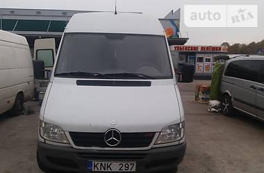 Характеристики Mercedes-Benz Sprinter 208 груз. Микроавтобус грузовой (до 3,5т)