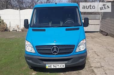 Характеристики Mercedes-Benz Sprinter 210 груз. Микроавтобус грузовой (до 3,5т)