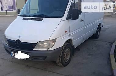 Характеристики Mercedes-Benz Sprinter 211 груз. Микроавтобус грузовой (до 3,5т)