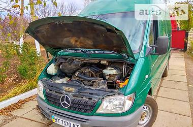 Характеристики Mercedes-Benz Sprinter 213 груз. Микроавтобус грузовой (до 3,5т)