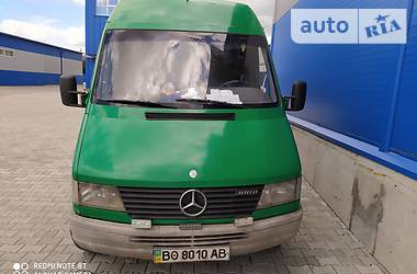 Характеристики Mercedes-Benz Sprinter 308 груз. Микроавтобус грузовой (до 3,5т)