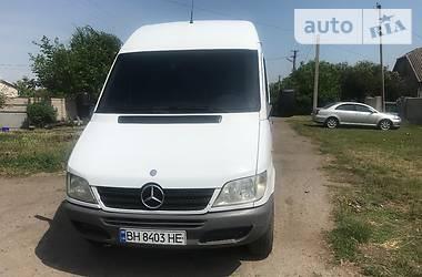Характеристики Mercedes-Benz Sprinter 311 груз. Микроавтобус грузовой (до 3,5т)