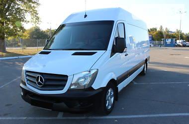 Характеристики Mercedes-Benz Sprinter 313 груз. Мікроавтобус вантажний (до 3,5т)