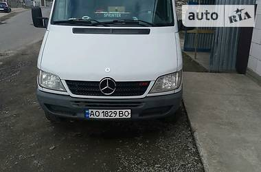 Характеристики Mercedes-Benz Sprinter 313 груз. Микроавтобус грузовой (до 3,5т)