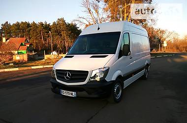 Характеристики Mercedes-Benz Sprinter 314 груз. Микроавтобус грузовой (до 3,5т)