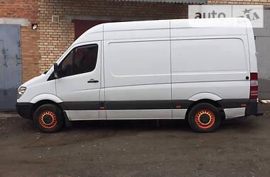 Характеристики Mercedes-Benz Sprinter 315 груз. Микроавтобус грузовой (до 3,5т)