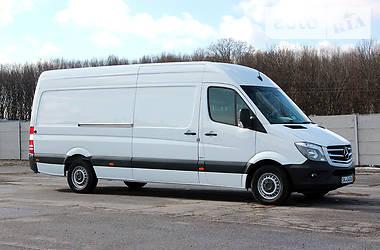 Характеристики Mercedes-Benz Sprinter 316 груз. Микроавтобус грузовой (до 3,5т)