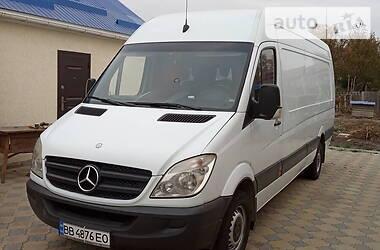 Характеристики Mercedes-Benz Sprinter 318 груз. Мікроавтобус вантажний (до 3,5т)