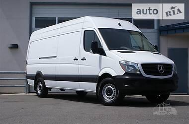 Характеристики Mercedes-Benz Sprinter 319 груз. Микроавтобус грузовой (до 3,5т)