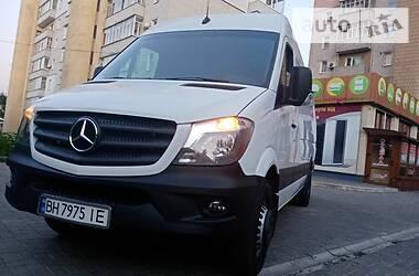 Характеристики Mercedes-Benz Sprinter 319 груз. Мікроавтобус вантажний (до 3,5т)