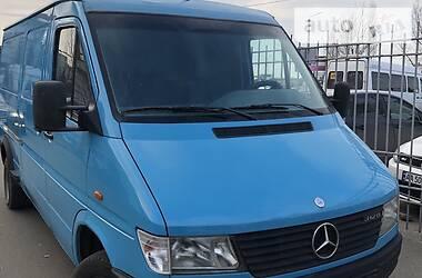 Характеристики Mercedes-Benz Sprinter 412 груз. Микроавтобус грузовой (до 3,5т)