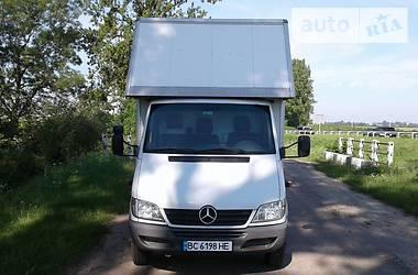 Характеристики Mercedes-Benz Sprinter 413 груз. Микроавтобус грузовой (до 3,5т)