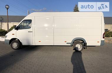 Характеристики Mercedes-Benz Sprinter 416 груз. Микроавтобус грузовой (до 3,5т)