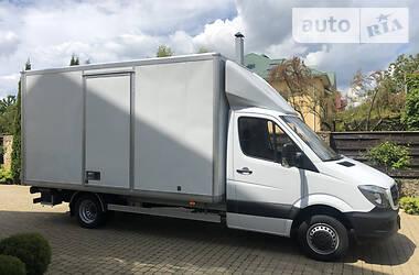 Характеристики Mercedes-Benz Sprinter 516 груз. Микроавтобус грузовой (до 3,5т)