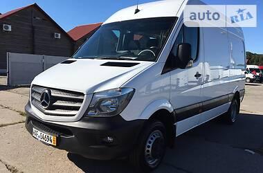 Характеристики Mercedes-Benz Sprinter 516 груз. Мікроавтобус вантажний (до 3,5т)