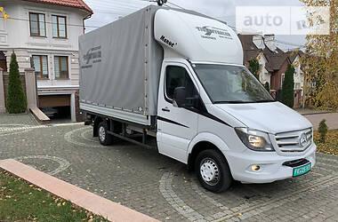Характеристики Mercedes-Benz Sprinter 519 груз. Мікроавтобус вантажний (до 3,5т)