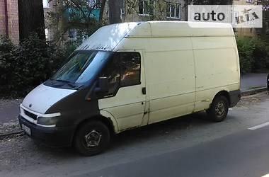 Характеристики Ford Transit груз. Мікроавтобус вантажний (до 3,5т)