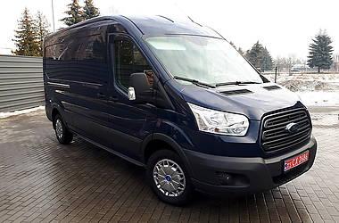Характеристики Ford Transit груз. Микроавтобус грузовой (до 3,5т)