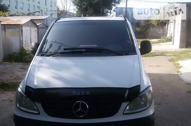 Характеристики Mercedes-Benz Vito груз. Микроавтобус грузовой (до 3,5т)