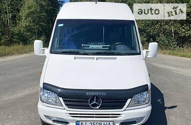 Характеристики Mercedes-Benz Sprinter 311 пас. Мікроавтобус (від 10 до 22 пас.)