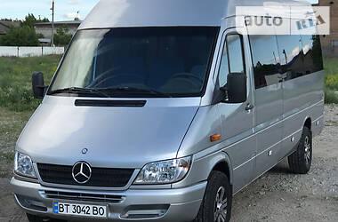 Характеристики Mercedes-Benz Sprinter 313 пасс. Микроавтобус (от 10 до 22 пас.)