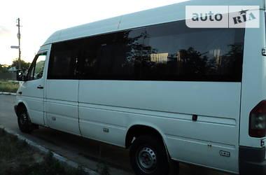 Характеристики Mercedes-Benz Sprinter 316 пасс. Микроавтобус (от 10 до 22 пас.)