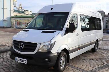 Характеристики Mercedes-Benz Sprinter 316 пас. Мікроавтобус (від 10 до 22 пас.)