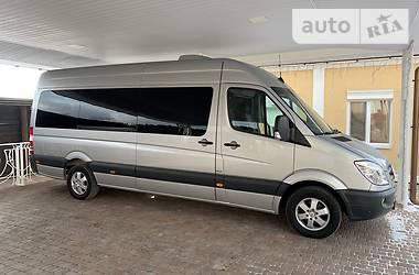 Характеристики Mercedes-Benz Sprinter 319 пасс. Микроавтобус (от 10 до 22 пас.)