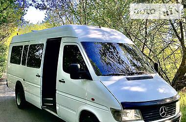 Характеристики Mercedes-Benz Sprinter 412 пас. Мікроавтобус (від 10 до 22 пас.)