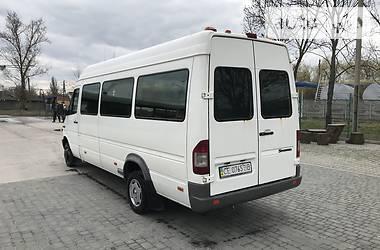 Характеристики Mercedes-Benz Sprinter 413 пасс. Микроавтобус (от 10 до 22 пас.)