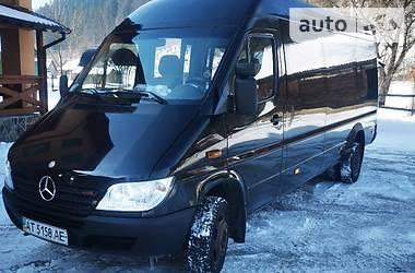 Характеристики Mercedes-Benz Sprinter 416 пасс. Микроавтобус (от 10 до 22 пас.)