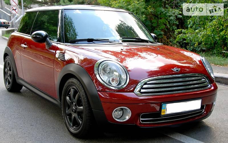 Mini Cooper 2008 года