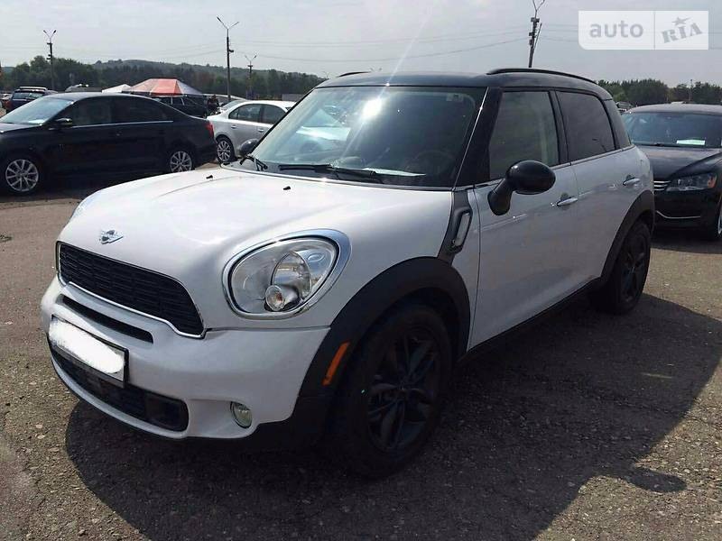 Mini Countryman 2012 года