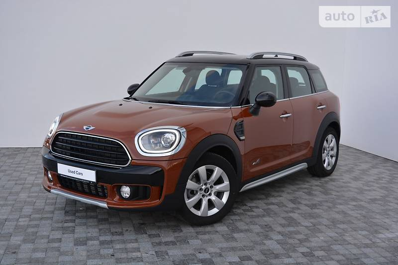 Mini Countryman 2017 года