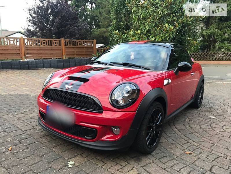 Mini Coupe 2012 года