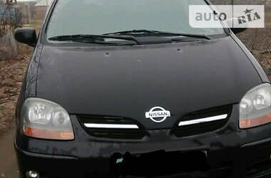 Характеристики Nissan Almera Tino Минивэн